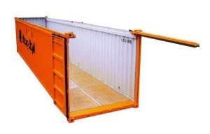 Sea Shipping Service Container Types Open Top Container