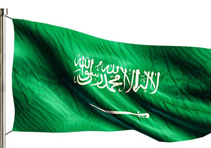 Saudi Arabia National Flag Isolated 3D White Background
