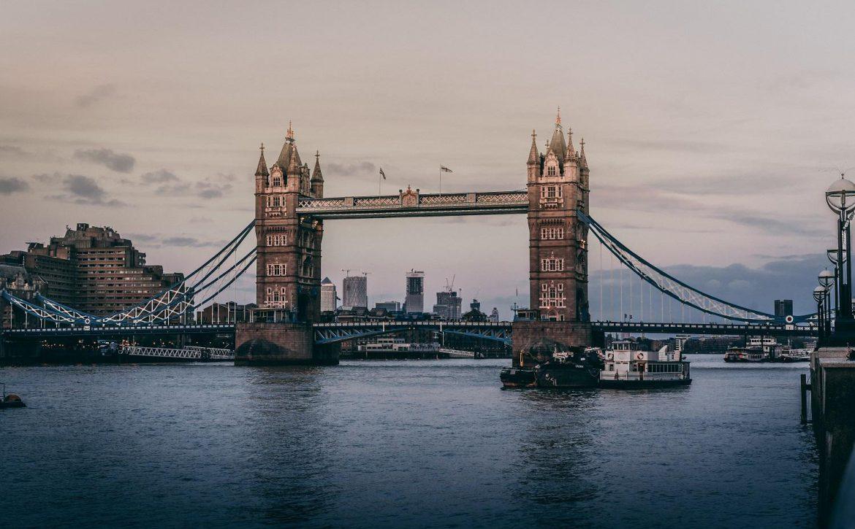Beautiful shot of Tower Bridge in London