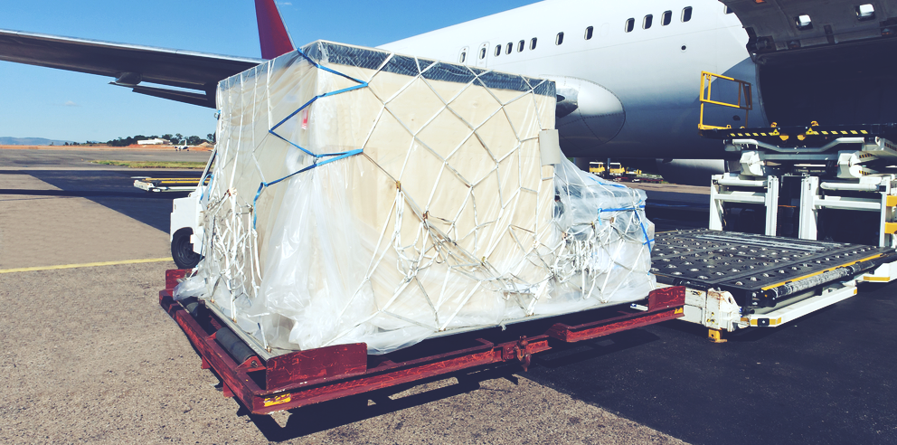 SIZE OF PACLAGE IN AIR CARGO