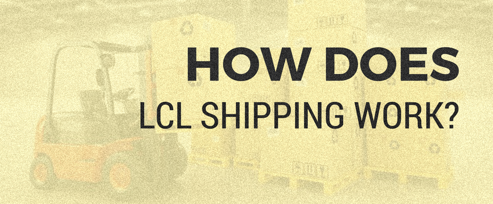 LCL sea shipping service from china to france