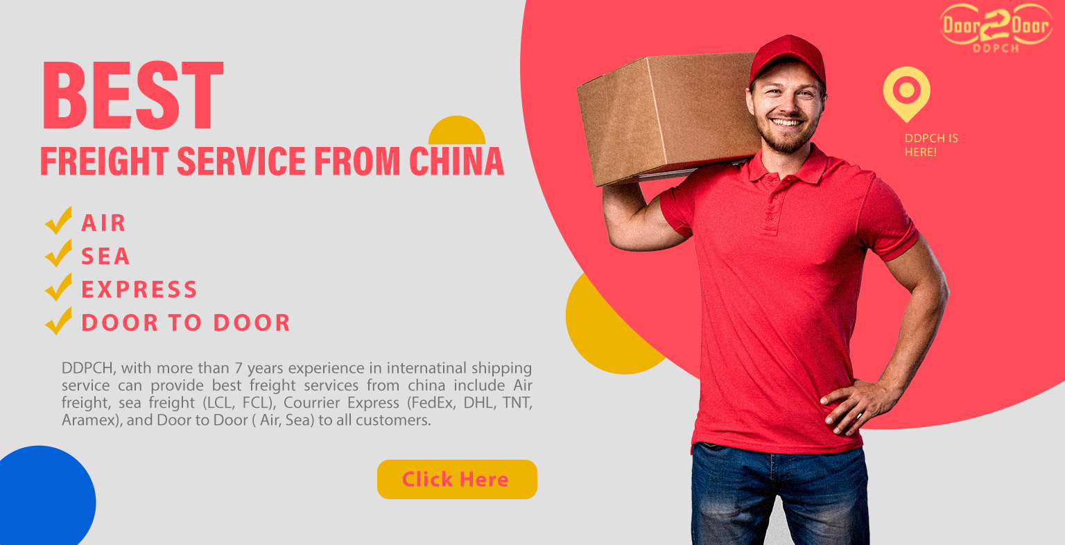 shipping service from china to worldwide