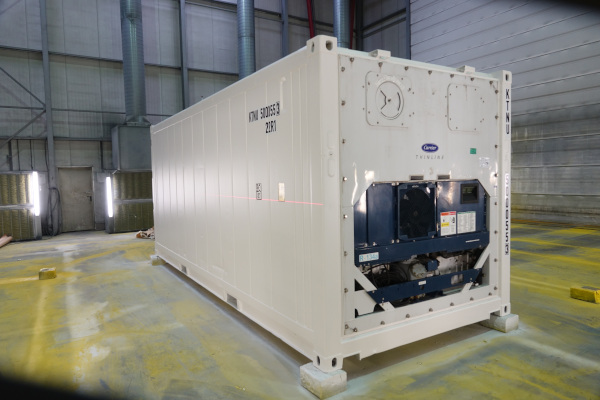 New Refrigerated containers