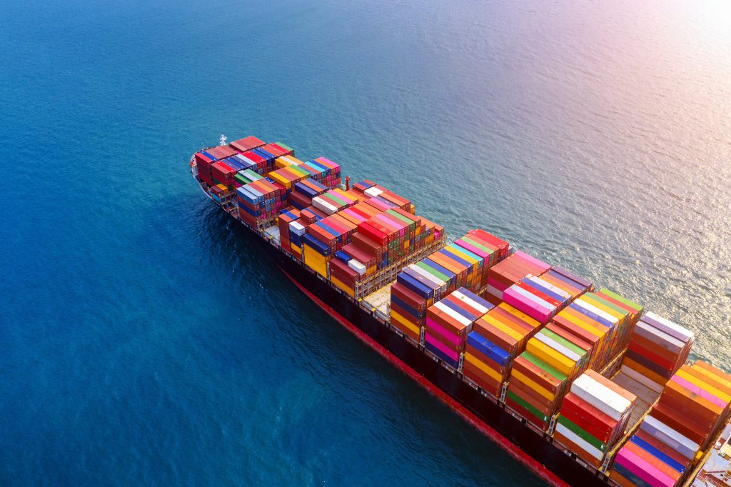 Sea shipping container