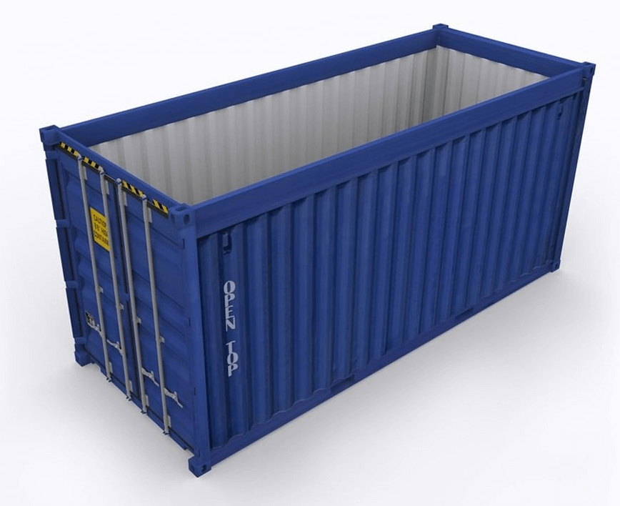 New Open top containers