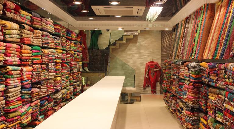 market of silk
