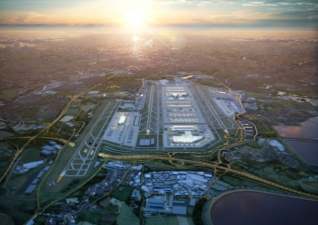 London heathrow airport air freight from China to the UK