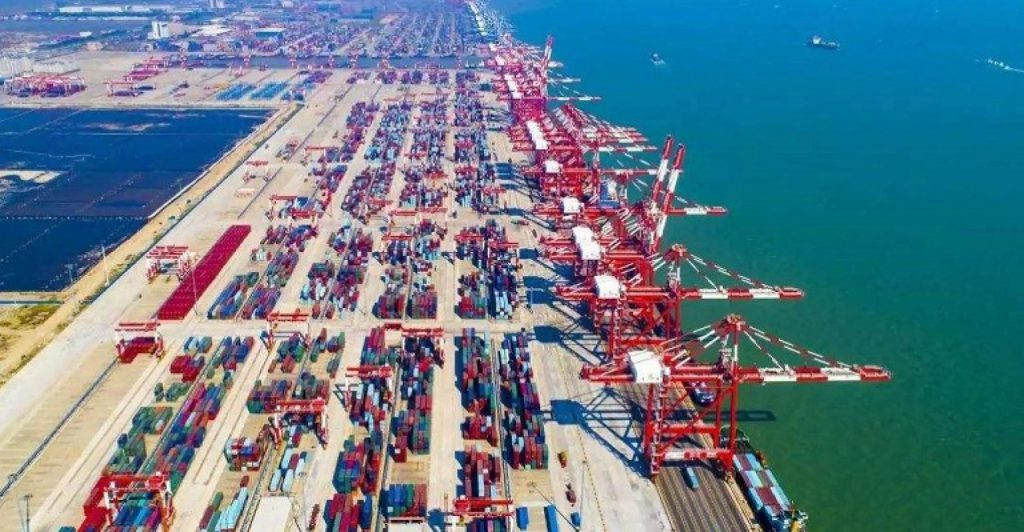 top 10 sea ports in china