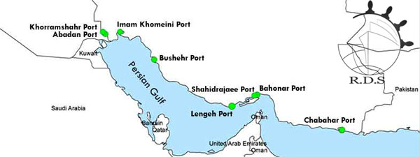 air and sea freight from China to Iran