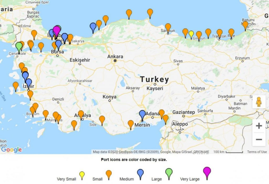 air and sea freight from china to Turkey shipping cargo