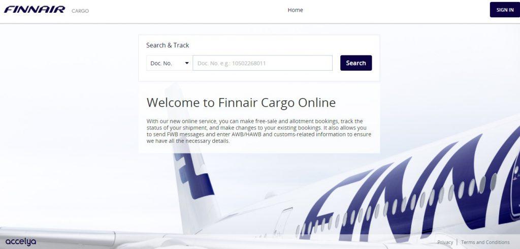 Air Cargo Tracking (Finnair)